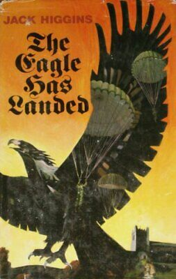Eagle Has Landed by Higgins, Jack Hardback Book The Cheap Fast Free Post