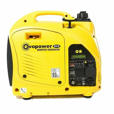 Evopower EVO10i Generator | Compact 1000w Portable Inverter Petrol Camping