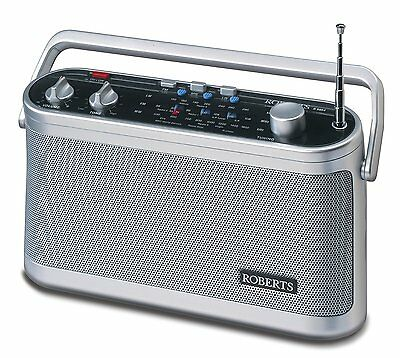 Roberts R9954 Radio FM MW LW Classic 3-Band Portable Mains / Battery 954 ~New