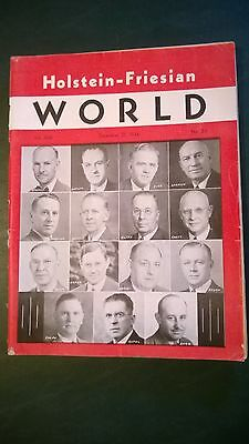 HOLSTEIN WORLD 1946 THE 1946 ALL-AMERICAN NOM. + FAMOUS  200th EARLVILLE SALE