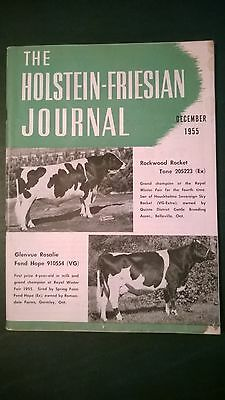 Holstein-Friesian Journal 1955 The 1955 All-Canadian Nom. + Rosafe Sale + Royal