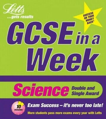GCSE in a Week: Science (Revise GCSE in a Week) by Byrne, Kevin Paperback Book