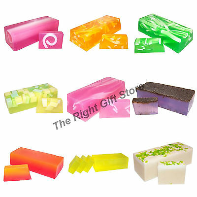 hand crafted soap slice natural luxury exotic soap bath gift 28 Different Scents