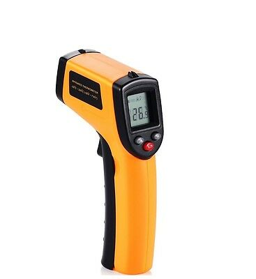 GM320 Non-Contact LCD IR Laser Infrared Digital Temperature Thermometer Gun AU