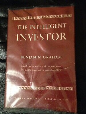 The Intelligent Investor ~ BENJAMIN GRAHAM ~ First Edition ~ Early Printing 1953