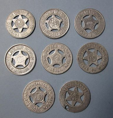 Good Luck Star Token Letter Punch Machine Tags with Names
