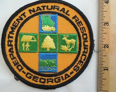 Georgia Department Natural Resources Patch (Ems, Highway Patrol, State Police)