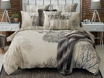 Bianca Sambar Deer Doona|Duvet|Quilt Cover Set King| Queen| Double