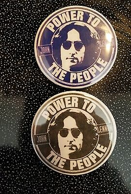 The Beatles John Lennon Badges Pins Buttons