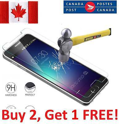 Genuine 9H Tempered Glass Screen Protector for Samsung Galaxy S4, S5, Note 4, 5