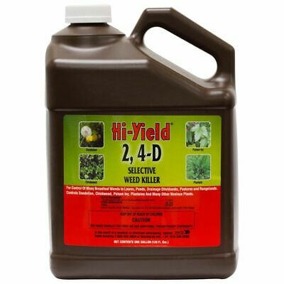 Hi-Yield 21416 2, 4-D 1 Gallon Concentrated Selective Weed Killer