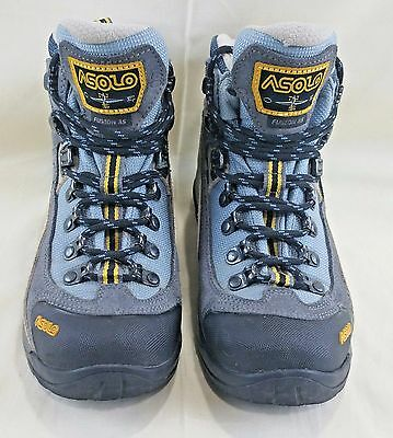 ASOLO Fusion 85 Hiking Boots Leather and Gortex - Women's Size 5.5 Good Cond.