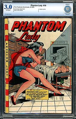 Phantom Lady #15 CBCS 3.0 (Mis-labeled as #19)