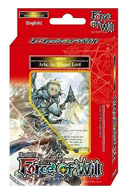Force of Will Alice Cluster TCG: Arla The Winged Lord Light Deck, English