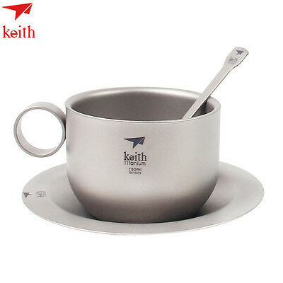 Keith Ti3601 Office coffee cup Tea set Outdoor water cup Portable water cup 3601