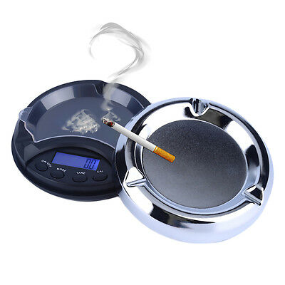200g/0.01g Digital Precision Pocket Scale Ash Tray Style Weighing Scales M*