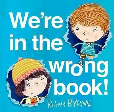 NEW We're in the Wrong Book! By Richard Byrne Paperback Free Shipping