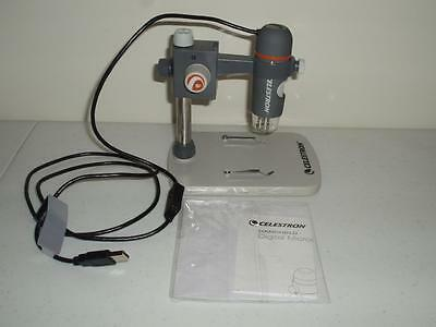 Celestron Handheld Digital Microscope with Tabletop Base 44308