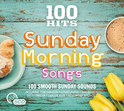 Various Artists : 100 Hits: Sunday Morning Songs CD Box Set 5 discs (2017)