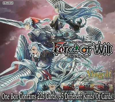 Force of Will Vingolf Series 2: Valkyria Chronicles Set of 225 cards, English Ed