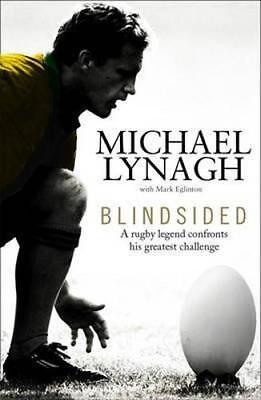 NEW Blindsided By Michael Lynagh Paperback Free Shipping