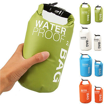 Waterproof Dry Bag Sack Pouch Boating Kayaking Camping Rafting Hiking Bag 2L/5L