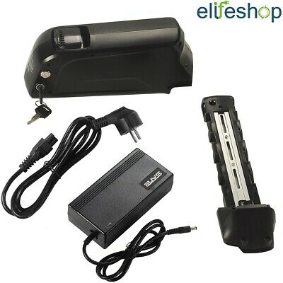 USB Down Tube 36V17Ah(629Wh) Electric Bike Lithium-ion Battery Black +3A Charger