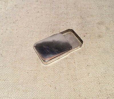 Tiffany & Co. Vintage Authentic Sterling Silver Match Holder Pill Box
