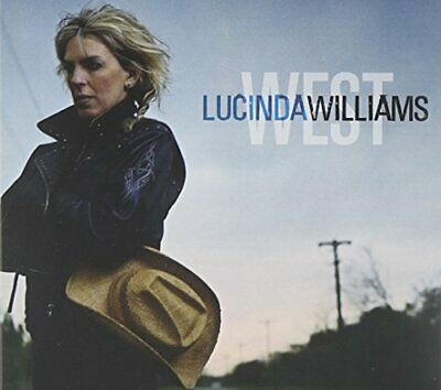 Lucinda Williams - West - Lucinda Williams CD FIVG The Cheap Fast Free Post The