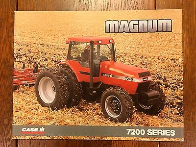 Case IH 7200-series Magnum tractor sales brochure from 1996
