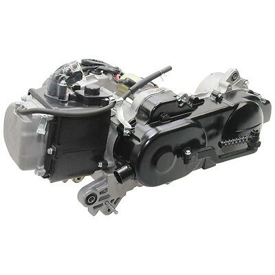 Complete Engine 4Takt 50cc 139QMA 12 Zoll short wave Drum brake rear XFP