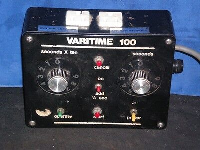 Avco Varitime 100 solid state DARKROOM Film Developing TIMER