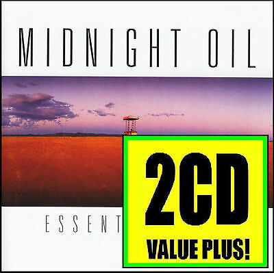 Midnight Oil (2 Cd) Essential Oils ~ Best Of *new*