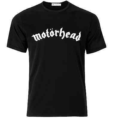 Motorhead Band T-Shirt Black Heavy Metal Rock Music Cotton Official Concert