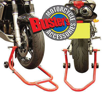 Yamaha YZF R1 Front Rear Track Paddock Stand Set Pair YZF-R1