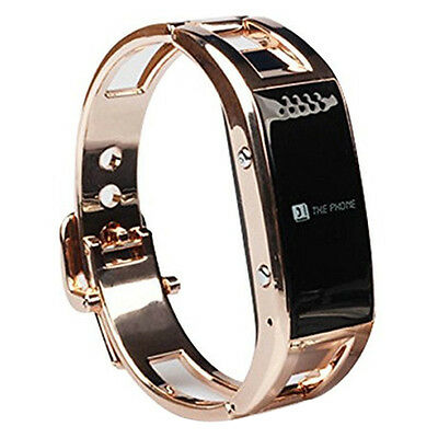Smart Bluetooth Wrist Watch Support Caller ID For IOS Android(Gold) T8Y8