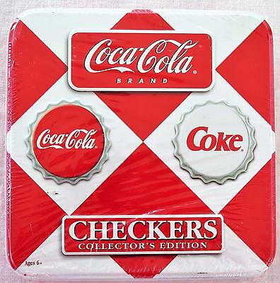 Coca Cola Checkers 2003 Collector's Edition  NEW!! FREE SHIPPING!!