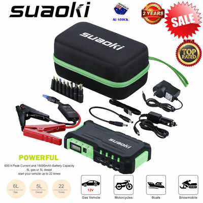 Suaoki G7 18000mAh Car Jump Starter Booster Emergency Battery Charger Power Bank