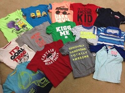 Boys t-shirts size 5-6 (lot 14) all brand name