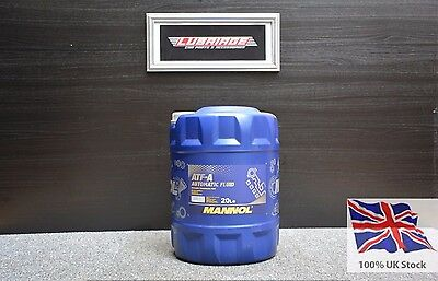 Mannol Atf-A/psf 20L Power Steering Fluid 20 L Allison C3, Caterpillar To-2