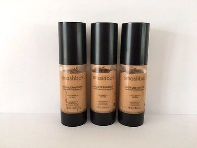 Smashbox High Definition Healthy FX Foundation - Medium - 30ml x 3 *FAULTY PUMP*
