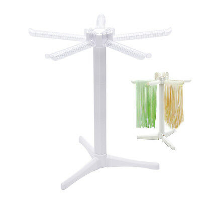Pasta Drying Rack, Collapsible Spaghetti Dryer Stand Noodle Drying Holder U9D4