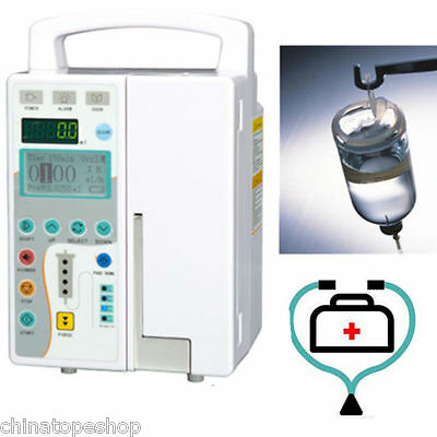 Medical Infusion Pump Injection Machine KVO Multi-language VoiceAlarm Purge Sale
