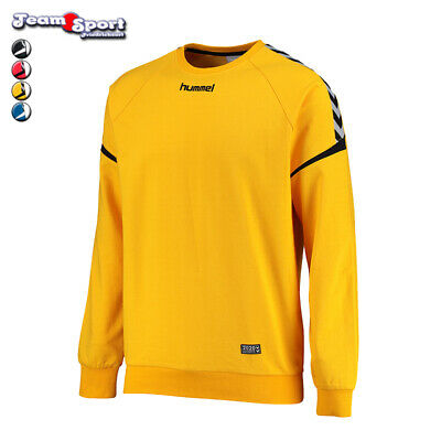 Hummel Auth. Charge Cotton Sweatshirt Handball Fußball Gr. 116-176 Art. 103-709