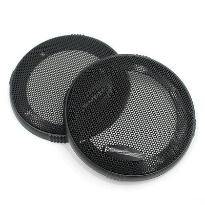 "2X 4"" 140MM ABS Coaxial Steel Speaker Coaxial Mesh Grille Cover Woofer BL-40062"