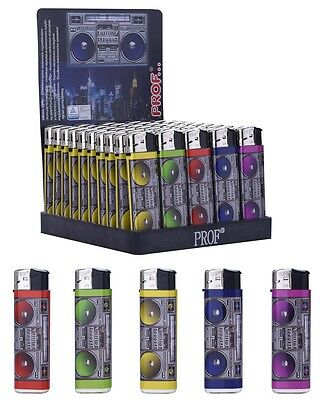 5 Briquet Ghetto Blaster Rechargeable 8 X 2.5 Cm