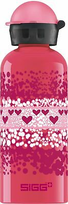 Sigg - Heart Crumble - 0.6L - Kids Water Bottle