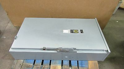 Square D H326R 600A Amp Fusible Safety Switch Disconnect 240V Type 3R Series E1