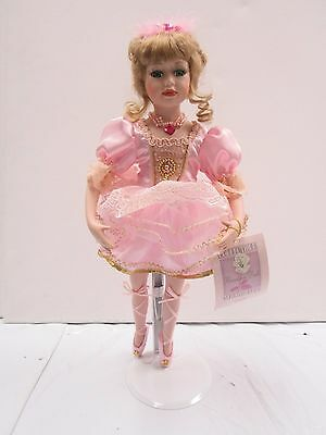 """Collectible Memories """"Giselle"""" Porcelain Ballerina Doll 16"""" F192"""