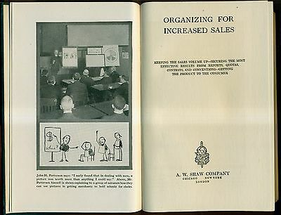 1919 Organizing for Increased Sales - Shaw Selling Series - A.W. Shaw Company